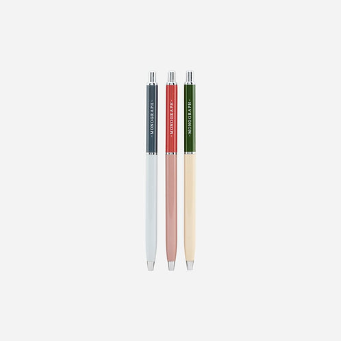 ボールペン 3 SET