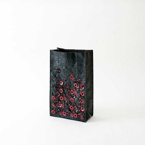 DEM04-red  BREAD BAG S