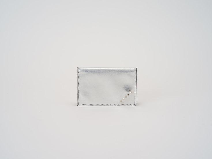 DCL01 カードケース シルバー