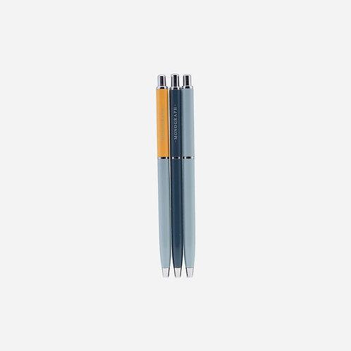ボールペン 【BALL】 3SET