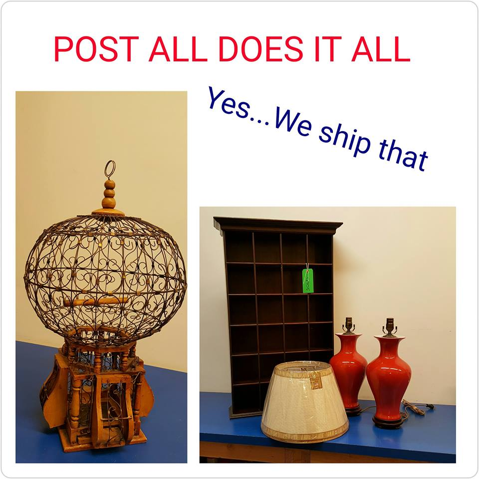 Wooden Shelf - Lamps - Birdcage