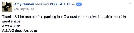 postallri facebook reviews