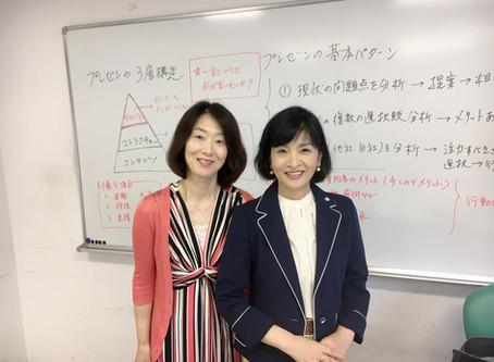 NHKカルチャーでプレゼンテーション講座