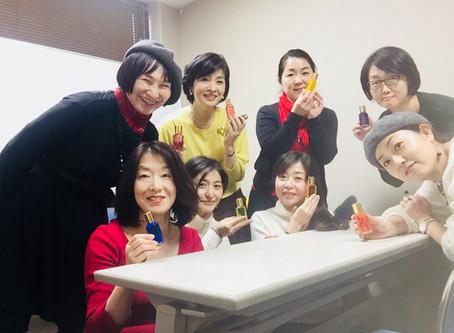 大盛況!新春ランチ会&カラーセラピー体験会