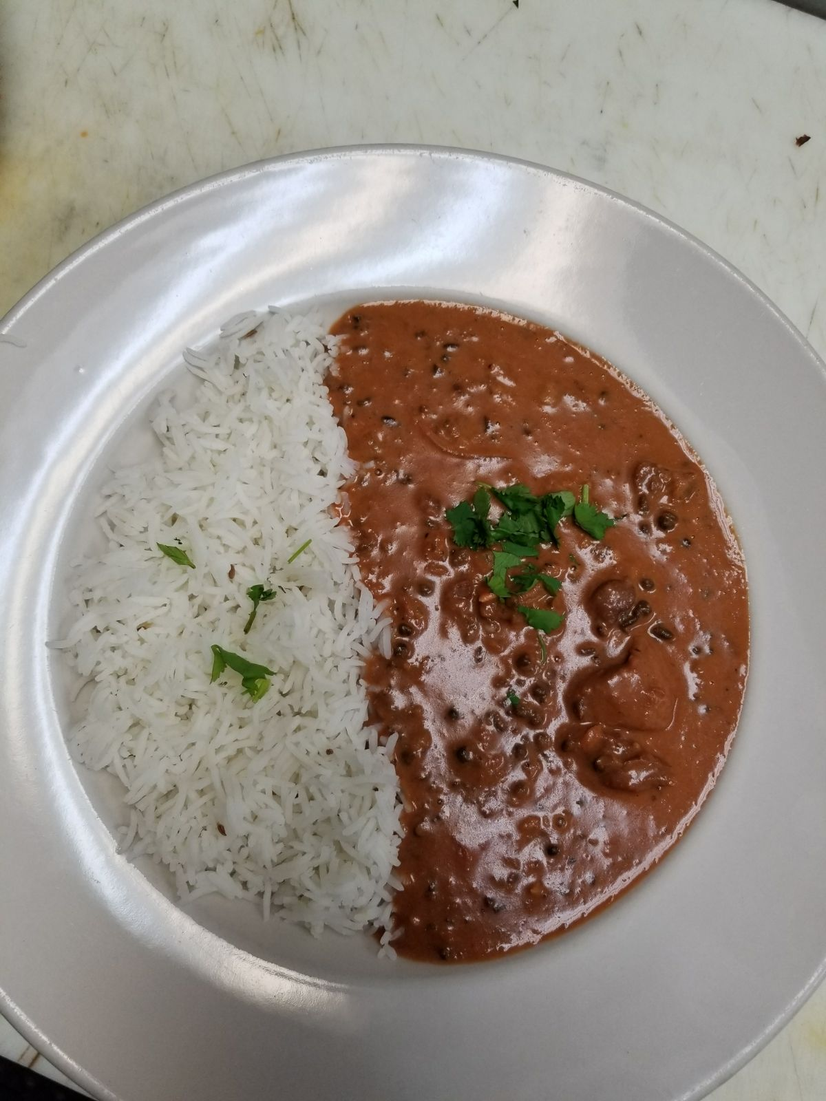Dal Makhni with Lamb