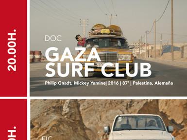 A resistencia dos mozos de Gaza a través do surf, tema do documental protagonista mañá de AMAL