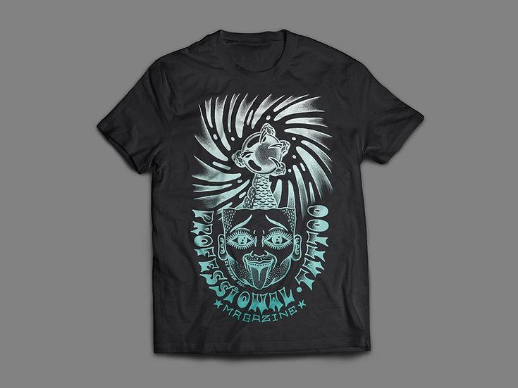 "Camiseta Professional Tattoo Magazine ""El Monga"""