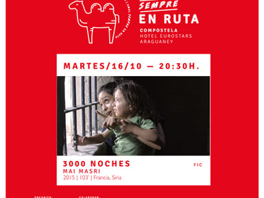 "A Fundación Araguaney-Ponte de Culturas clausura o ciclo Amal  Sempre en Ruta coa película ""3000 noi"