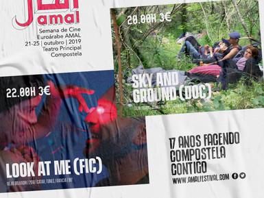 """AMAL proxecta mañá MARTES dúas estreas en España, o documental estadounidense """"Sky and Ground"""" e a p"""