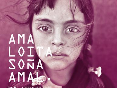 La mirada soñadora de una niña refugiada siria encarna la imagen de la semana de cine euroárabe AMAL