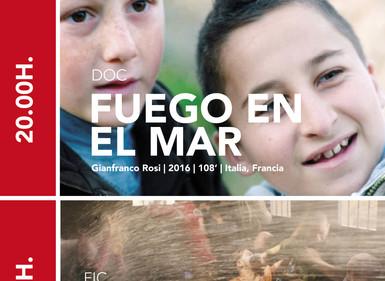 AMAL dá paso hoxe a FUEGO EN EL MAR, un documental sobre o drama dos refuxiados que chegan á illa si