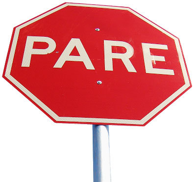 placas de sinalização com instalação