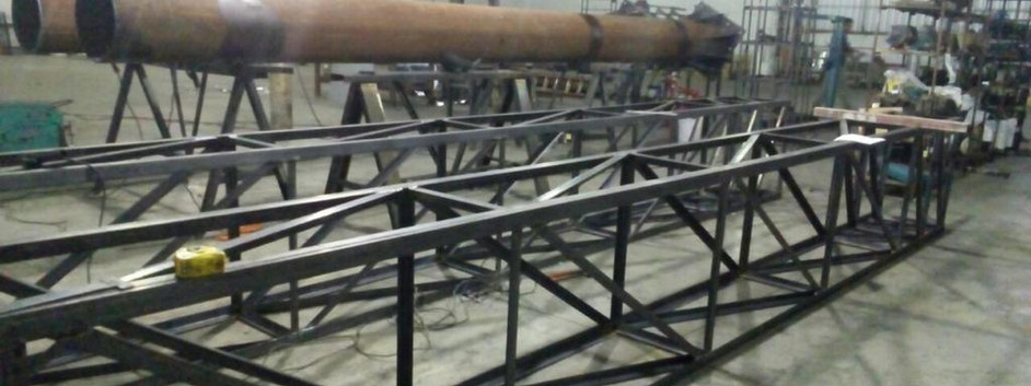 fabricação semi portico