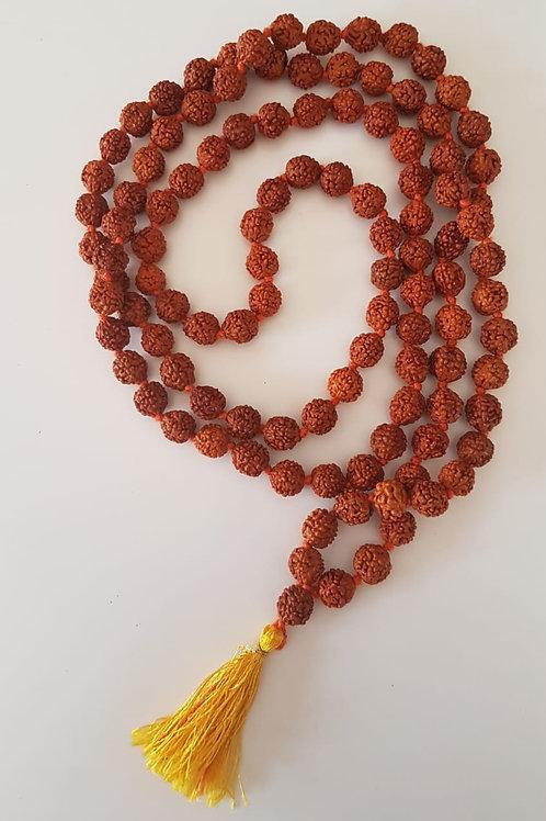 Japamala  Sementes de Rudraksha