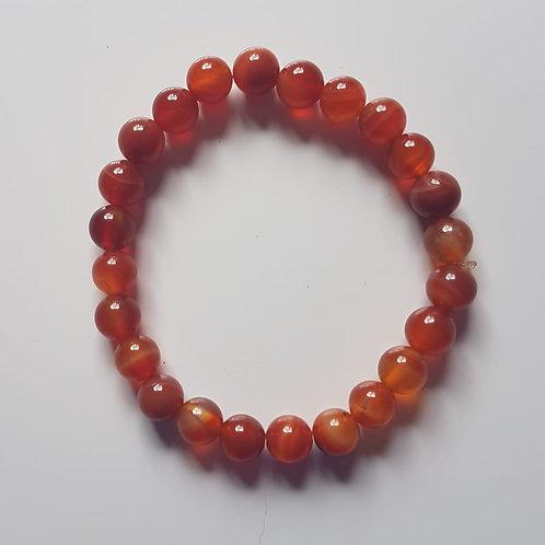 Pulseira Pedra Jaspe Vermelho