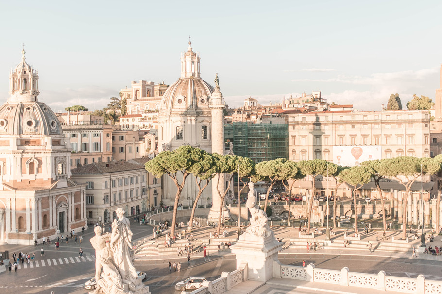 View from Palazzo Venezia