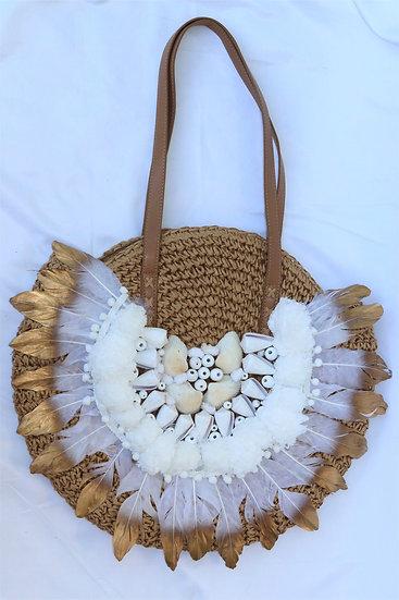 Meliá straw bag