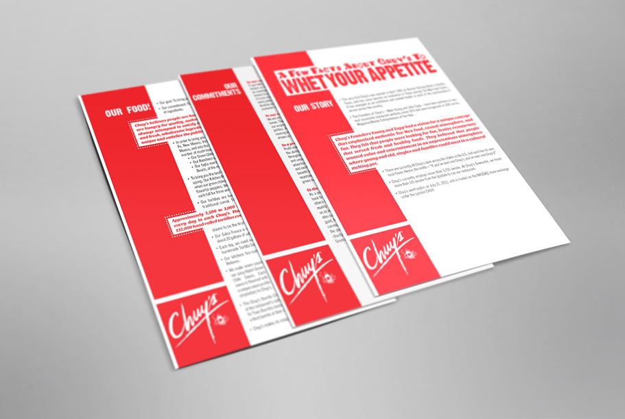 Chuy's Media Kit