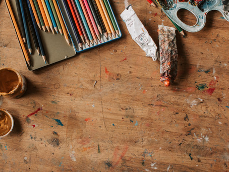 Five ways to recover from lockdown: 4) make space to be creative
