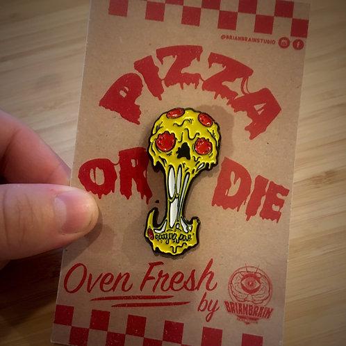 Pizza or Die Pin