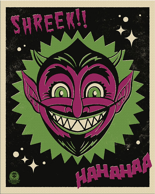 Halloween Hooligan Devil 8X10 Print