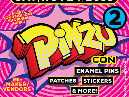 I will be at Pinzu Con 2!