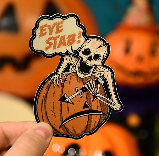EYE STAB Sticker