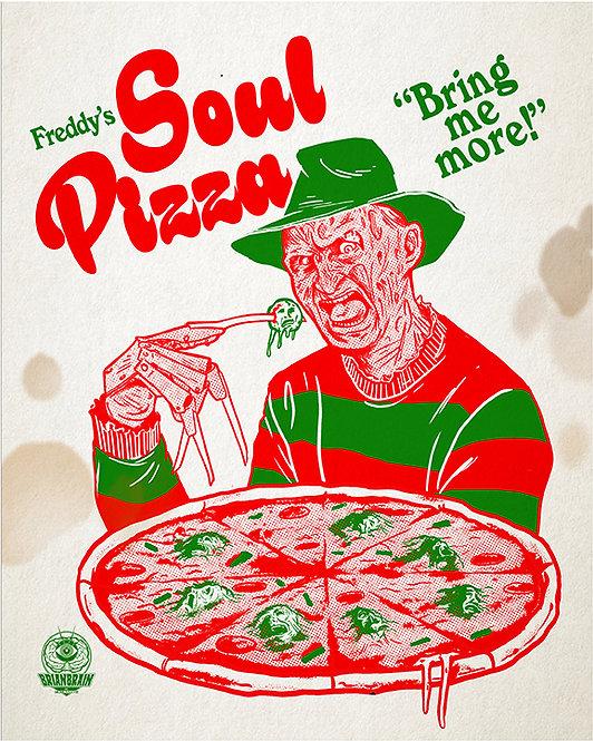 Freddy's Soul Pizza 8X10 Print