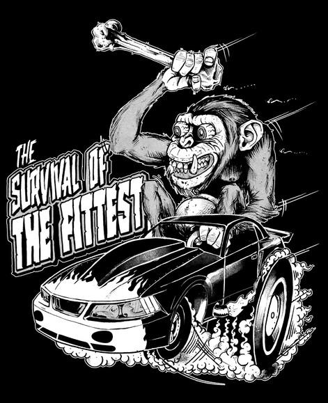 Evolution Drag Racing