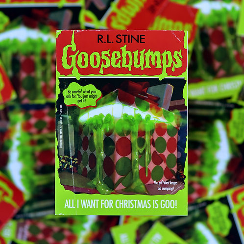 Goosebumps Christmas Greeting Card