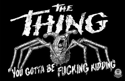The Thing 11x17 Print