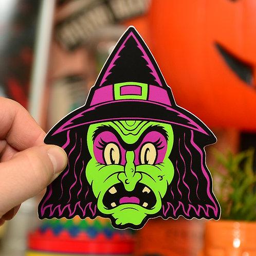 Witch Halloween Hooligan Sticker