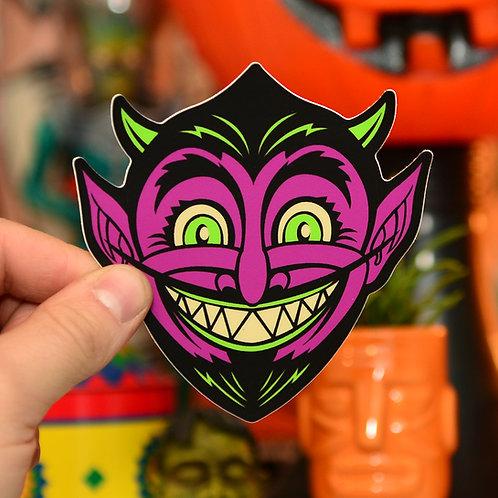 Devil Halloween Hooligan Sticker