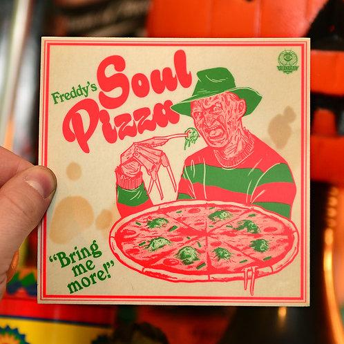 Freddy's Soul Pizza Box Sticker