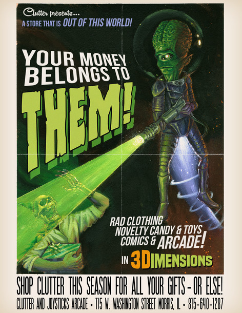 Your Money Belongs to Them!