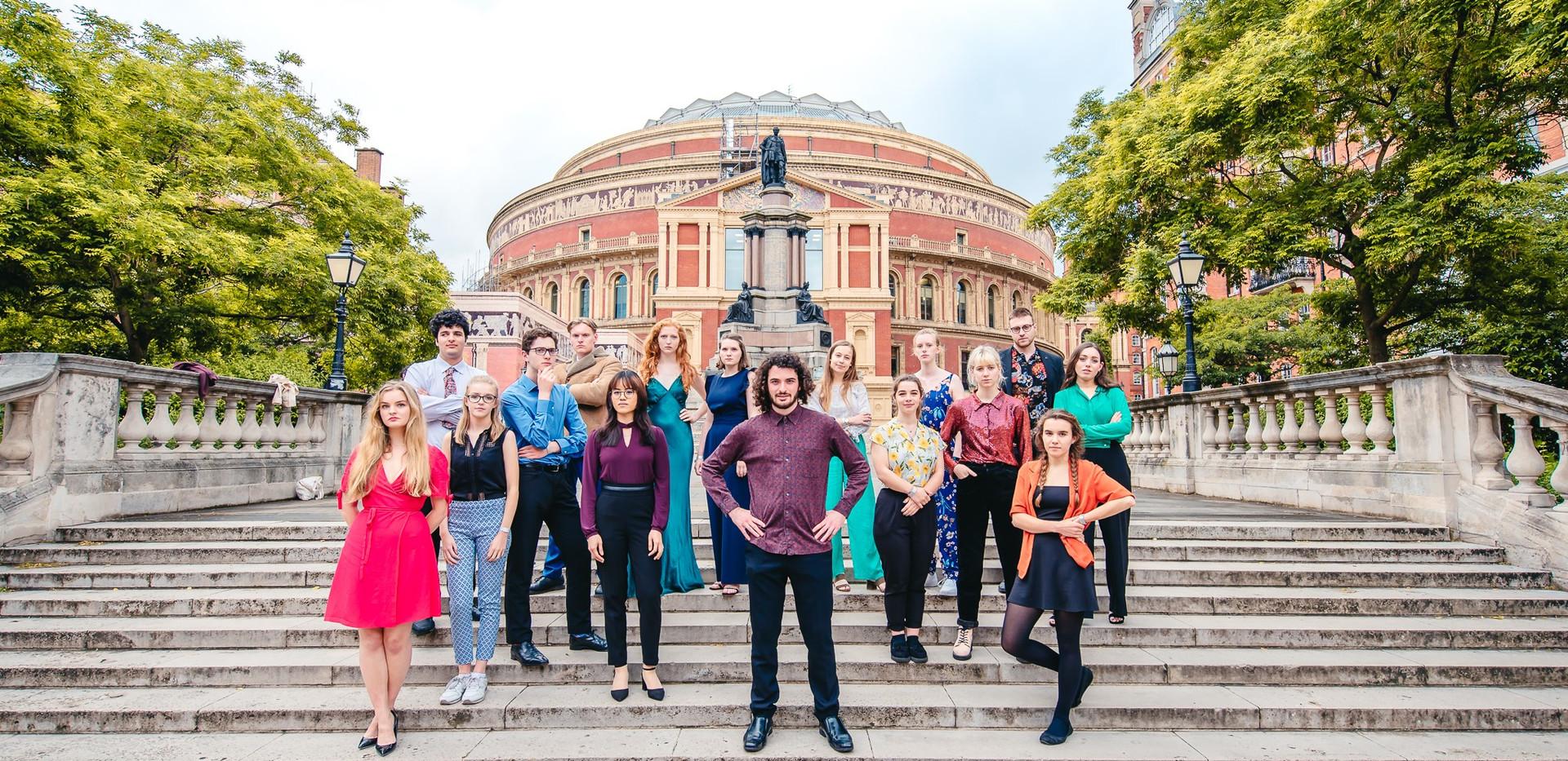 Echo ensemble at the Royal Albert Hall