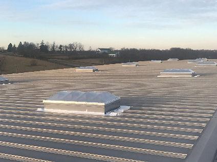 Skylight Installation -Burnett Roofing