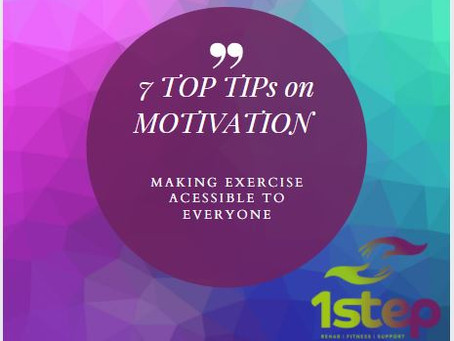 Improve your fitness motivation with our 7 top tips
