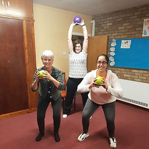 Small group fitness training with 1st Step Rehab Fitnes Support Milton Keynes