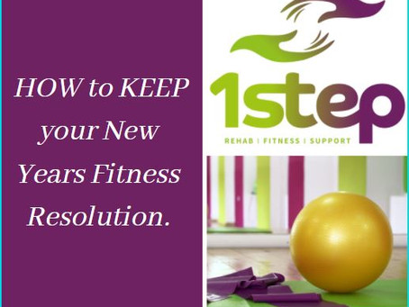 How to keep your New Year fitness resolution.