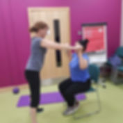 Low impact exercise classes with 1st Step Rehab Fitness Support Milton Keynes