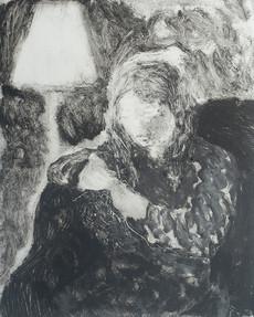 Greta Knitting