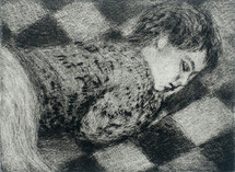 Sleeping Boy on Blanket