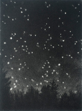 Stars From My Studio Window