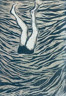 Handstand Under Water