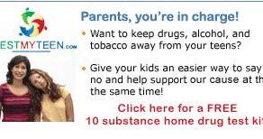 Order 1 Free Home Drug Test Kit for Your Teen