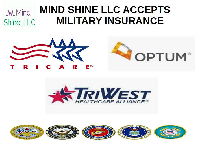 Mind Shine Accepts Military Insurance Po