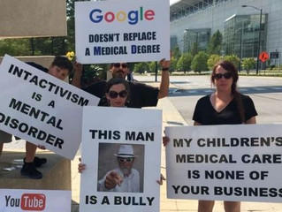 Circumcision Choice Chicago AAP 2017 Counter-protest against Intactivism