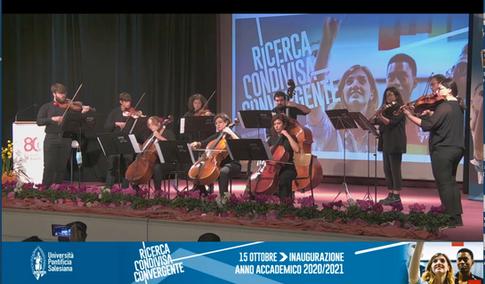Concerto apertura Anno Accademico dai Salesiani 15.10.20