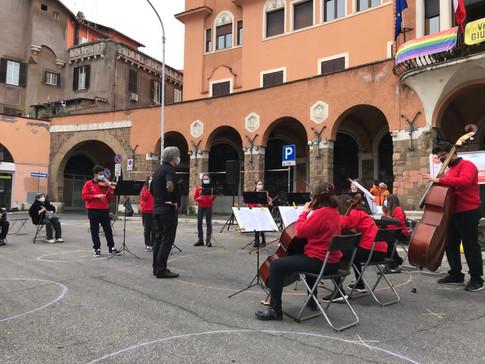 Concerto in Piazza Sempione 17/4/2021